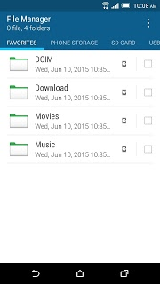 Htc File Manager APK screenshot 1