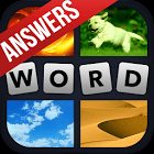 4 Pics 1 Word Cheats & Answers APK icon